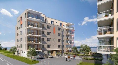 Strandholmen bygg C kommer snart for salg.