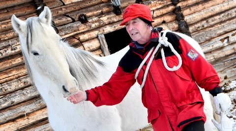 "ET MYSTERIUM: Hestene til Bjørn Setsaas på Høvringen savner ""Armani"" som har vært borte i over to måneder."