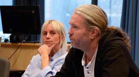 FIKK BEKREFTET: Bård Brørby (SV) fikk bekreftet at prosessen er igangsatt overfor de ansatte. – Svært betenkelig, mener Anne Paulsen (SV).