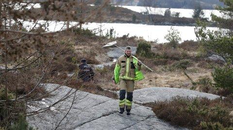 Brannmannskaper fra Tysvær brannvesen og en patrulje fra Sør-Vest politidistrikt rykket onsdag ut til en mindre gress- og lyngbrann ved Bongsatjørnå i Aksdal.