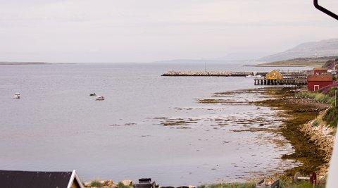 VADSØ: En grå dag i Vadsø Onsdag 5. august.