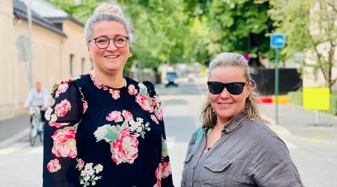 MYE Å VÆRE STOLTE AV: Både forfatter Camilla Johansen og forlegger Veronica Melå kan være stolte av den jobben som har vært lagt ned i forkant av lansering.