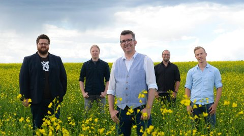 PÅ TURNÉ: Bandet Drolsum Stasjon spiller på EnergiMølla tirsdag 11. september.