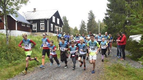 FOR 62. GANG: Lørdag arrangeres Numedalsløpet, det 13 kilometer lange skogsløpet, fra Lyngdal til Flesberg for 62. gang.FOTO: OLE JOHN HOSTVEDT
