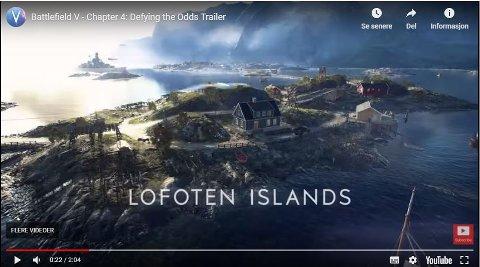 Battlefield V tar turen til Lofoten.
