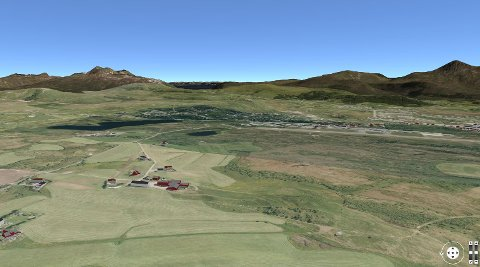 3D-kart fra Vestvågøy