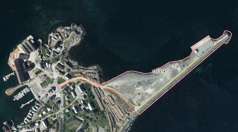 Fiskebedriften H. Sverdrup AS har søkt om å få kjøpe et restareal (g.b.nr. 13/274) i Reine ytre havn, men kommunen har andre planer for området.