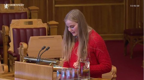 1. KANDIDAT: Solveig Skaugvoll Foss er førstekandidat til Strotinget for SV fra vest-Agder.