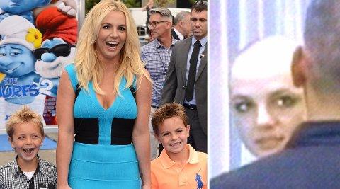 Britneys sammenbrudd i 2007 førte til at hun mistet foreldreretten til sine to sønner.