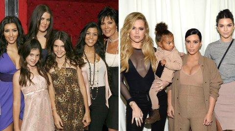 Familien Kardashian har endret seg på alle mulige måter gjennom de 14 årene de har vært på tv-skjermen.