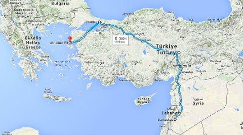 kart hellas tyrkia Nordlys     Vi ville til Hellas. Ikke til helvete! kart hellas tyrkia