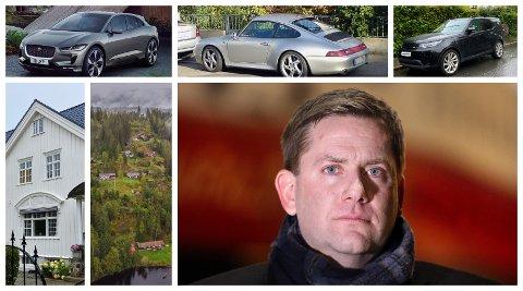 KJØP: I løpet av de siste årene har Daniel Skjeldam kjøpt hus til nær 32 millioner kroner, hytte til 7,1 millioner kroner samt tre biler.