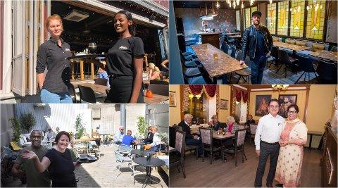 ØNSKER VELKOMMEN: Restaurantlivet i Gjøvik åpner dørene igjen.