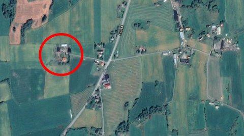 OVERDRATT: Denne eiendommen i Kolbulinna er overdratt i mai for 3,9 millioner og er eiendommen med den høyeste overdragelsesprisen i Østre Toten.