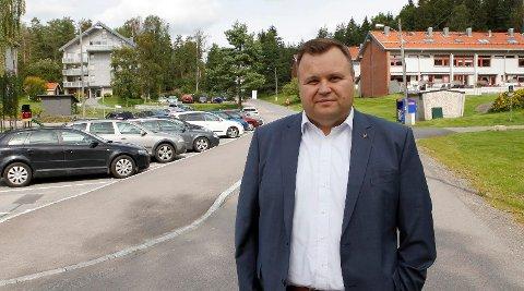 MER Å GJØRE: Ordfører Thomas Sjøvold mener reguleringsplanen har blitt langt bedre enn høringsutkastet, men at mye mer kan gjøres.