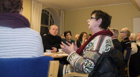 Vil unngå nye ekstrarunder: Tove Lisbeth Vasvik sørget for å få tilføyd i vedtaket at høydene som partiet har kommet fram til er å anse som maksimalhøyder.Foto: Lasse Nordheim