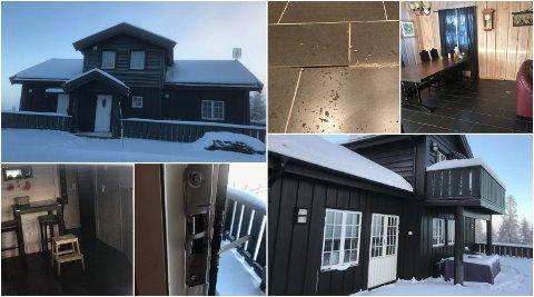 BRØT SEG INN: Frekke tyver brøt seg inn i hytta til Bjørn Stensrud i Digeråsen. Der tok de med seg det meste av inventar og ramponerte en hel del.
