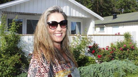 FANT SITT PARADIS: Ann Kristin Toreskaas fant sitt lille paradis på Tjøme og ble hytteeier mye raskere enn hun hadde tenkt.