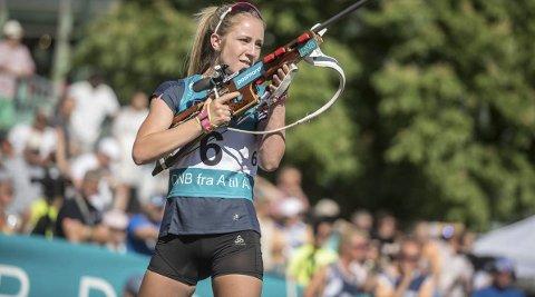 For hver krone inn på konto, kan Emilie Ågheim Kalkenberg, konsentrere seg litt mer om kun trening og konkurranse. Foto: Privat