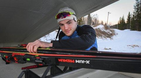 Åga ILs Sigurd Aarthun er ambassadør for idrett uten alkohol (IUA). Avholdsmannen mener alkohol og idrett ikke hører sammen. Foto: Øyvind Batt