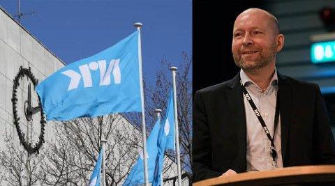 TAR TID: – Vi har ikke landet på noe, men håper å ta avgjørelsen i løpet av første halvår, sier flyttedirektør i NRK, Jon Espen Lohne.