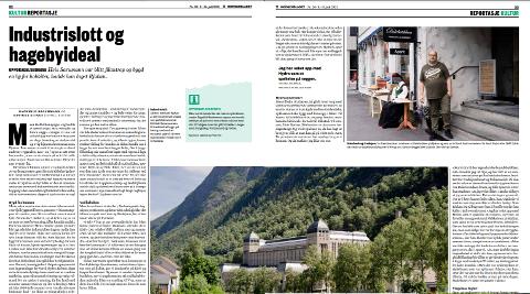 PÅ JAKT ETTER URBAN KULTUR: Morgenbladets journalist har vært på todagers reise til Rjukan.