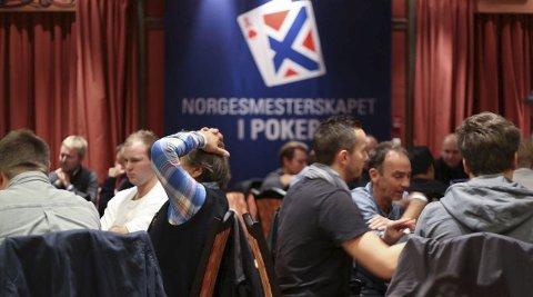 FØRSTE NM: Det aller første norgesmesterskapet i poker på norsk jord blir arrangert på Gardermoen. Bildene er fra regionsturneringen som ble arrangert i Oslo. ALLE FOTO: Global Poker Tours/Lina Olofsson