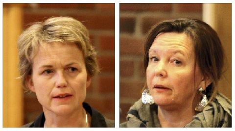 TRAKK OPPSIGELSENE: Elisabet Frøyland (t.v.) og Elisabeth Nordal trakk oppsigelsene dagen etter at rådmann Johnny Pedersen fratrådte.