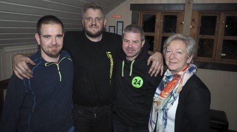 Stiftet klubb: Interimsstyret er (fra venstre) Morten Steen, Erik Weberg Hansen, Stian Eriksrud og Anne-Beth Storø. Rune Grønvold og Lasse Hansen var ikke tilstede da bildet ble tatt. Foto: Svein-Ivar Pedersen