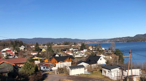 ØGARDEN - HOLM: Politiet har nylig fått inn anmeldelse om et hytteinnbrudd fra dette området. (Illustrasjonsfoto)
