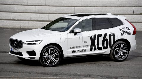 LEKKER: Nye Volvo XC60 er en nydelig bil, som norske bilister allerede har trykket til sitt bryst.