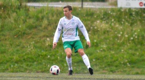TO MÅL: Kasper Nerbøvik scoret to mål og bidro til at Mysen/HIL vant komfortabelt 6-2 over Ekholt.