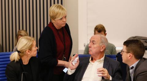 Styringsgruppen til Bymiljøpakke Nord-Jæren må smøre seg med tålmodighet når det kommer til spørsmålet om når rushavgiften kan gjeninnføres. Ordføreren i Sandnes har ved flere anledninger sagt at rushtidsavgift er uaktuelt for Sandnes å akseptere.