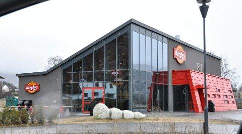 LEID UT FOR 20 ÅR: Lokalene til Bergbys på Nesøya forvandles nå til landets nyeste Burger King. Foto: Beate Evensen