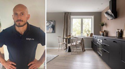 Jan Oftedal deler sine innsidetips som kan gjøre boligen din mer attraktiv - og fortjenesten høyere. Foto: Privat/Fotograf Veronika Moen @mayveronikamoen
