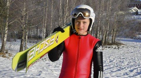 Til NM for seniorer: Heidi Dyhre Traaserud (13) er tatt ut til NM for seniorer på Hamar førstkommende helg.
