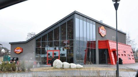 LEID UT FOR 20 ÅR: Lokalene til Bergbys på Nesøya forvandles nå til landets nyeste Burger King.