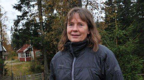 FRUSTRERT:Ellen Sønsteby på Sinober ber Oslo kommune revurdere avgjørelsen om skrinlegge sykkelvei gjennom Lillomarka.