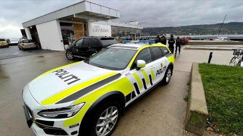 Politiet rykket ut til Drøbak etter en melding om at en person var sett svømmende over fjorden, som de ikke visste hvor befant seg.