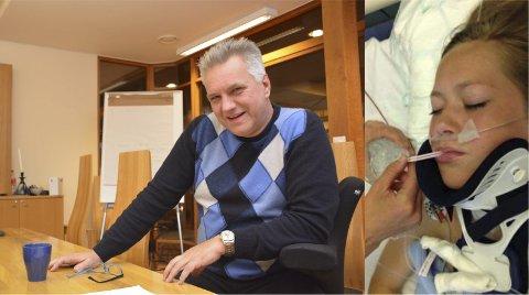 POLITISK BEHANDLING: Halvard Skaaland (FrP) vil at Gjerstad kommune skal se på saken til Hannah Lunden (17) på nytt.Foto: HPB / ARKIV