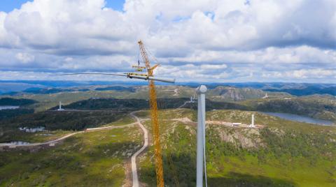 NOK NÅ: Fylkesådmannen i Vest-Agder mener fylkespolitikerne bør si nei til mer vindkraftutbygging.