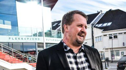 POSITIVT: Flekkefjords ordfører Torbjørn Klungland trekker et lettelsens sukk mer enn noe annet i dag over at Frp nå har trukket seg ut av regjeringen.