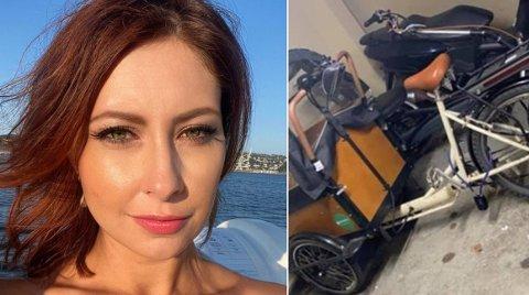 FORTVILET: Julianna Weber har ikke fått tilbake noen av sine stjålne kjøretøy, som var låst i bakgården da de plutselig forsvant.