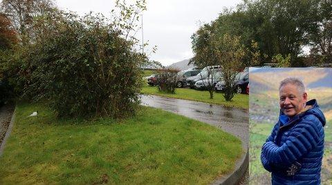 Sykkelulykka ved parkeringsplassen på Flatøy blir etterforska av politiet.