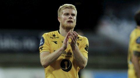 Spenning: Emil Jonassen vil berge plassen med Glimt før han forlater Bodø. Foto: NTB scanpix