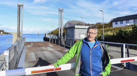 Avvik: Paul Erik Herstad mener publikum trenger en trygg måte å melde om avvik når fylkeskommunen nå tar en rolle som ansvarlig kaieier.Foto: Johan Votvik