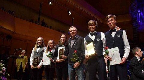 I helgen kunne Tertnes Skoles Musikkorps og dirigent Jan Egil Jørgensen ta imot trofeet som norgesmester i brass-klassen i NM for skolekorps.