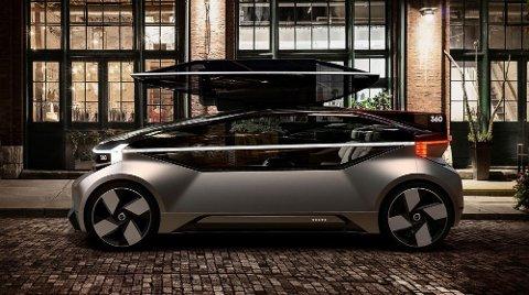TENKER NYTT: Designet ligner ikke på så mye vi kjenner fra Volvo til nå...