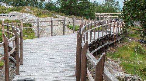 Helleristingsfeltet  i Ausevika i Høydal er eit populært mål, og alle hjarte gler seg over at toaletta i år vil vere opne for publikum, i motsetning til i fjor.