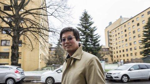 Etablerer asylmottak i høyblokkene: I vinter kjøpte Kan Cao sykehuset. Han har planer om å bygge 1000 leiligheter i området. Asylmottaket skal ikke forsinke. Arkivfoto: Christine Heim